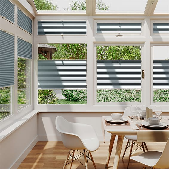 DuoShade Blue Haze EasiFIT Thermal Blind