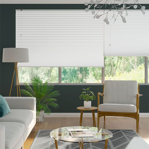 DuoShade-Max Cotton White Thermal Blind