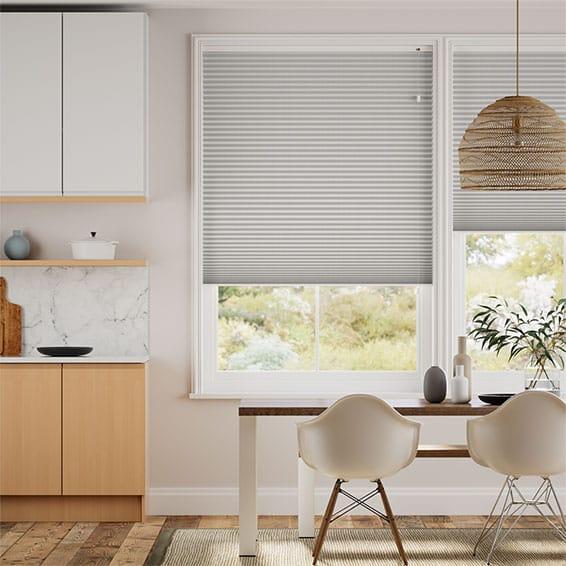 DuoShade Mosaic Cool Grey Thermal Blind
