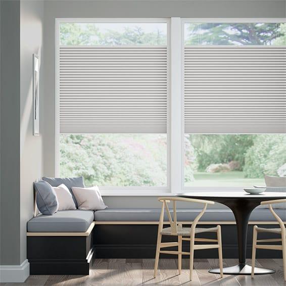 PerfectFIT DuoShade Mosaic Cool Grey Thermal Blind