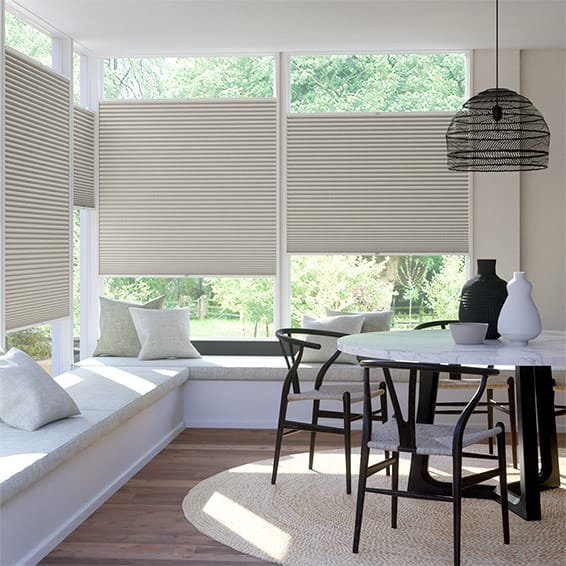 DuoShade Mosaic Warm Grey EasiFIT Thermal Blind