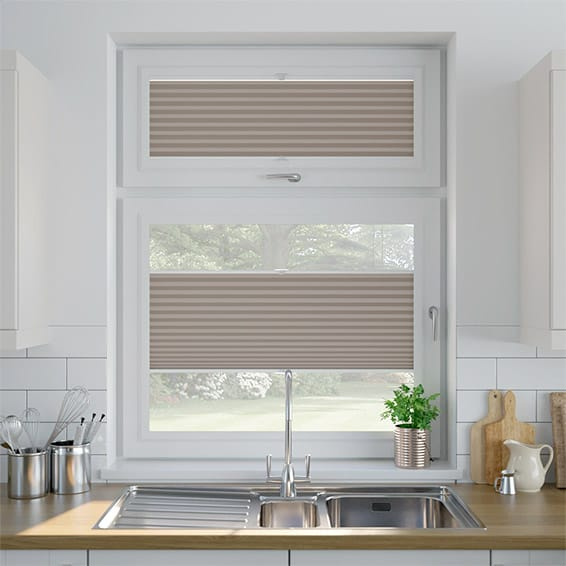 PerfectFIT DuoShade Mushroom Thermal Blind
