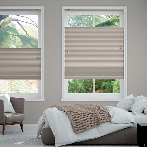 DuoShade Mushroom  Top Down/Bottom Up Thermal Blind