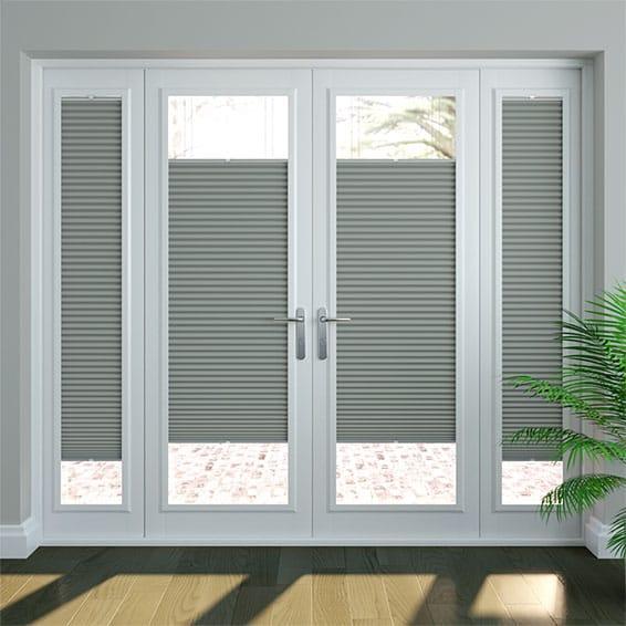 DuoShade Nickel Grey PerfectFIT Thermal Blind