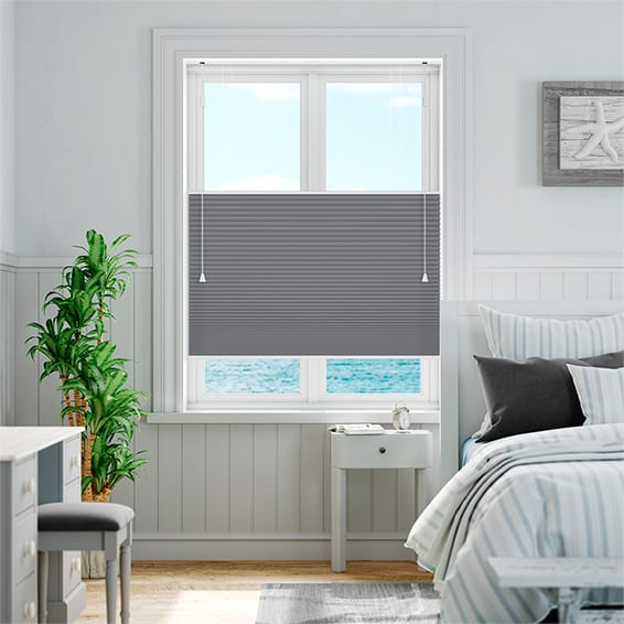 DuoShade Slate Blue Top Down/Bottom Up Thermal Blind