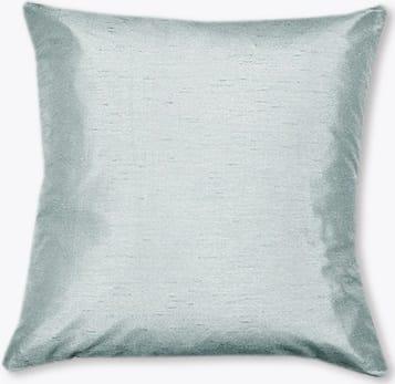 Dupioni Faux Silk Duck Egg Curtains - Cushions