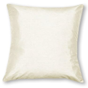 Dupioni Faux Silk Oyster Curtains - Cushions