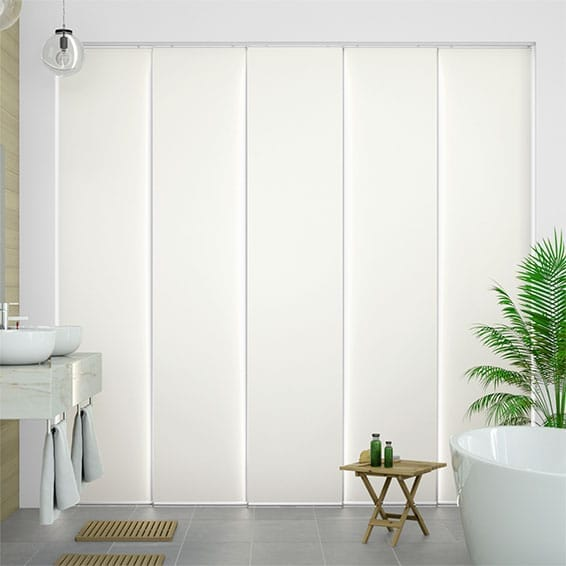 Eclipse Ice White Panel Blind