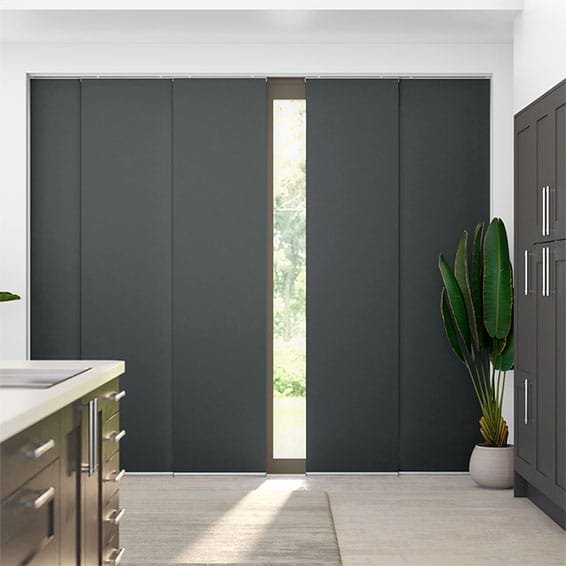 Eclipse Iron Grey Panel Blind