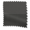 Eclipse Iron Grey & Slate Double Roller Blind sample image