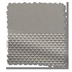 Eclipse Dove Grey & City Grey Double Roller Blind slat image