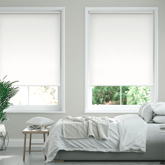 Eco-Friendly Blackout Ivory Roller Blind