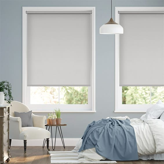Eco-Friendly Blackout Soft Grey Roller Blind