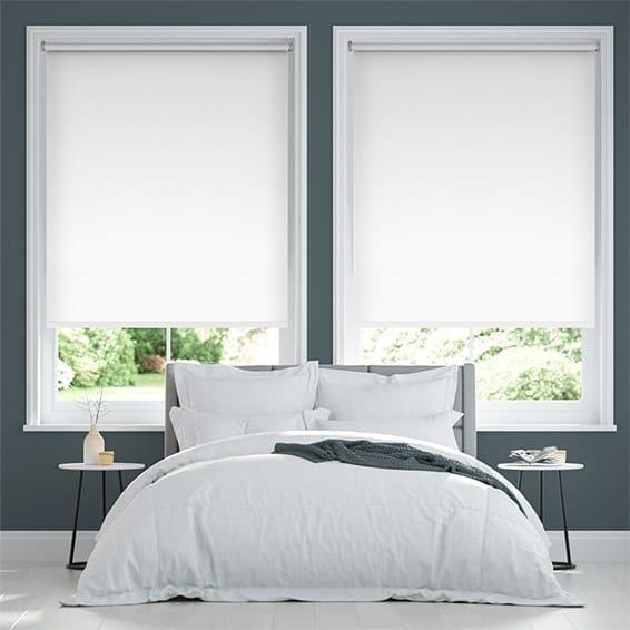 Eco-Friendly Blackout Soft White Roller Blind