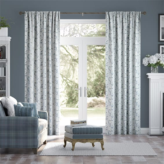 Edie Cornflower Curtains