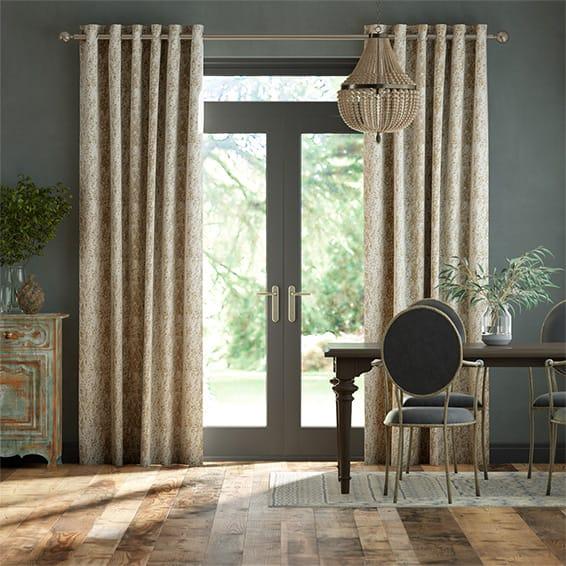 Eglomise Sandstone Curtains
