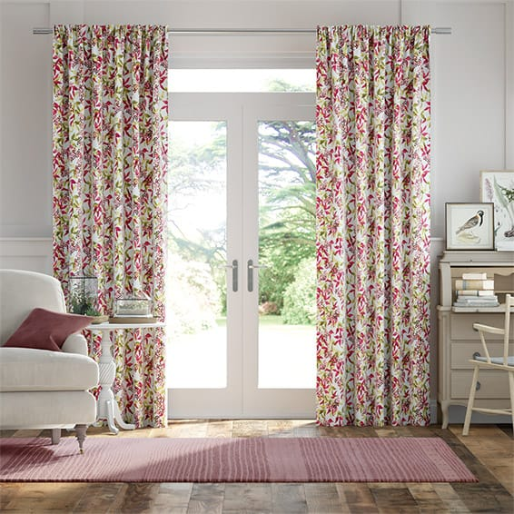 Elderberry Pink Curtains