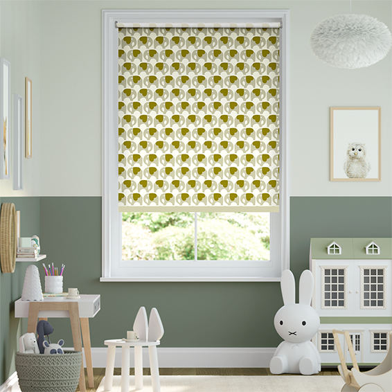 Ella Elephant Blackout Shadow Roller Blind