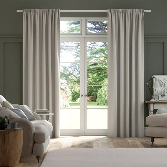Elodie Dove Grey Curtains