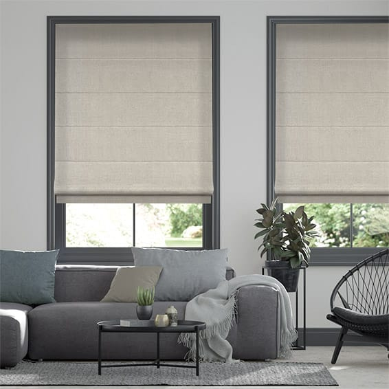 Elodie Dove Grey Roman Blind