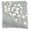 Emilia Embroidered Grey Roman Blind swatch image