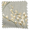Emilia Embroidered Sand Roman Blind swatch image