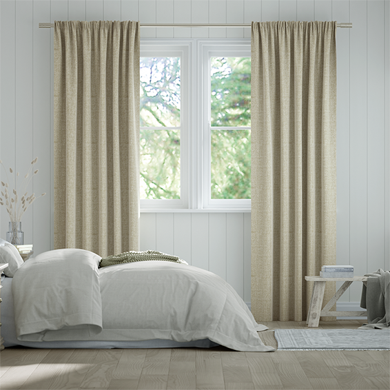 Encanto Shimmering Gold Curtains