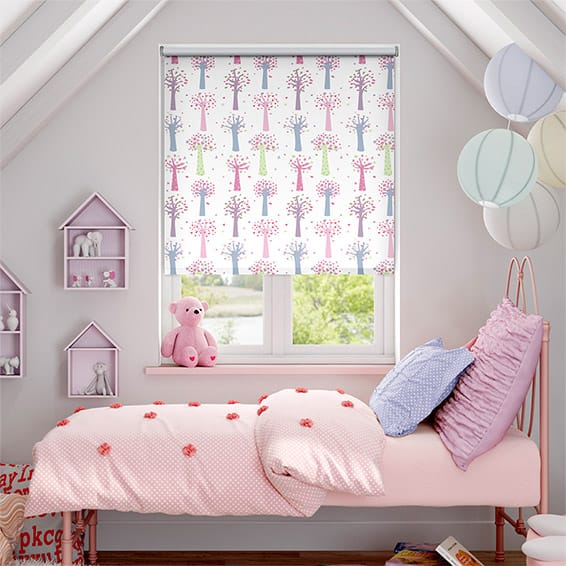 Enchanted Forest Blackout Candy Roller Blind