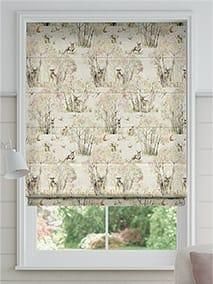 Enchanted Forest Linen Roman Blind thumbnail image