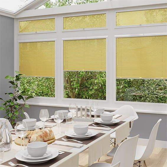 Energetic Yellow PerfectFIT Venetian Blind
