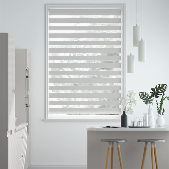 Enjoy Dimout Pale Grey  Roller Blind