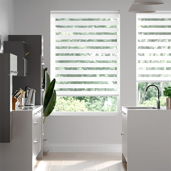 Enjoy Luxe Pearl White  Roller Blind