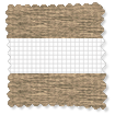 Enjoy Honey Oak Roller Blind slat image