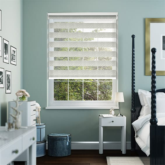Enjoy Luxe Platinum Pearl Roller Blind