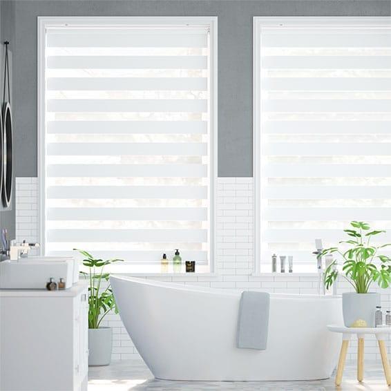 Enjoy Luxe White Roller Blind