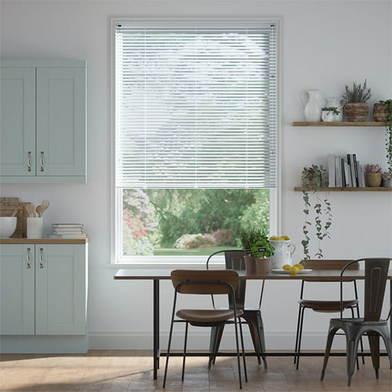 Essence China Blue Venetian Blind - 25mm Slat