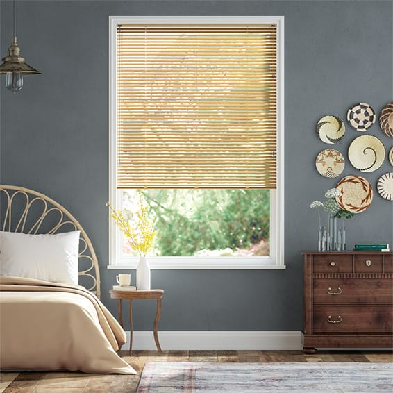 Essence Gold Venetian Blind - 25mm Slat