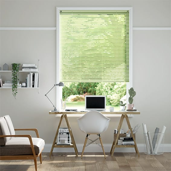 Essence Pale Green Venetian Blind - 25mm Slat