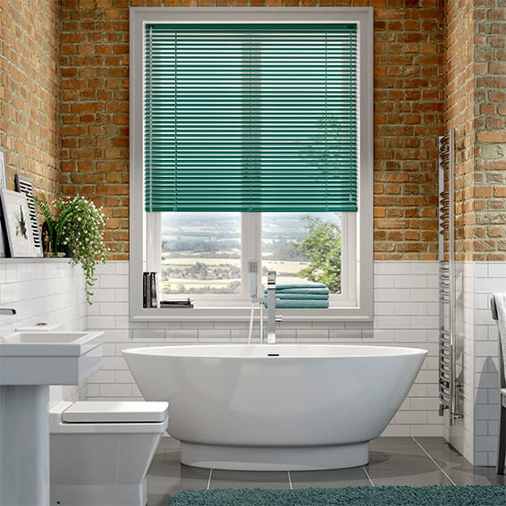 Essence Teal Venetian Blind - 25mm Slat