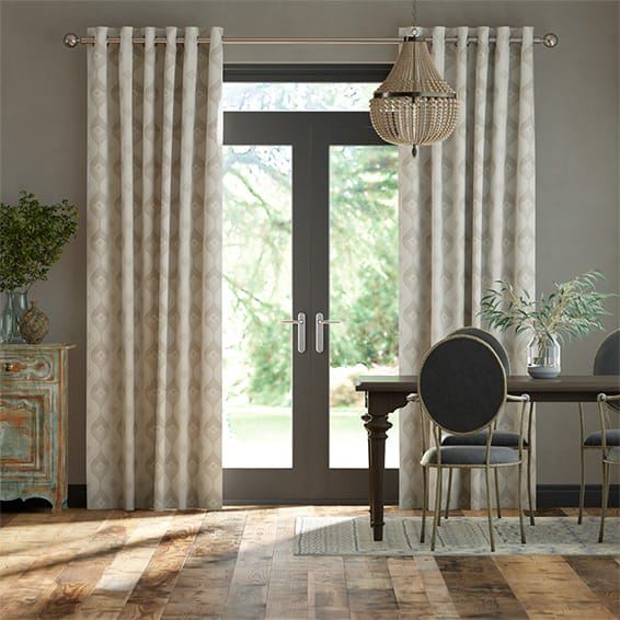 Evie Neutral Curtains