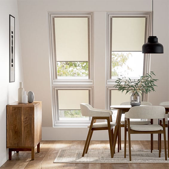 Expressions Alabaster Blackout Blind for Keylite Windows