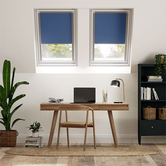 Expressions Cobalt Blackout Blind for Keylite Windows