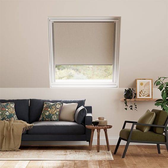 Expressions Light Taupe Blackout Blind for VELUX ® Windows