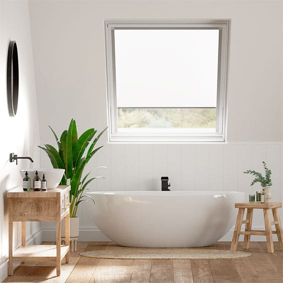 Expressions Vista Pure White Blind for VELUX® Windows