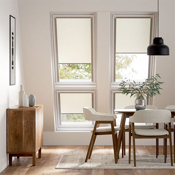 Expressions Vista Soft Cream Blind for Fakro Windows