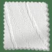 Faroe Ice White Vertical Blind sample image