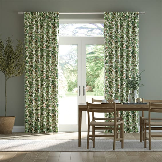 Figs Green Curtains