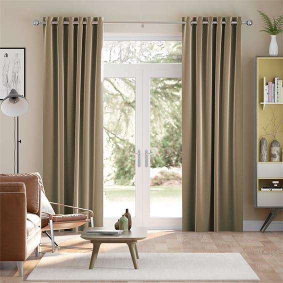 Fine Velvet Cocoa Curtains