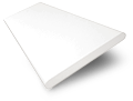 Fine White Wooden Blind swatch image