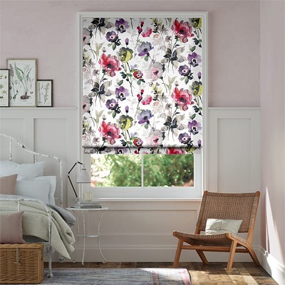 Fiori Carnation Roman Blind